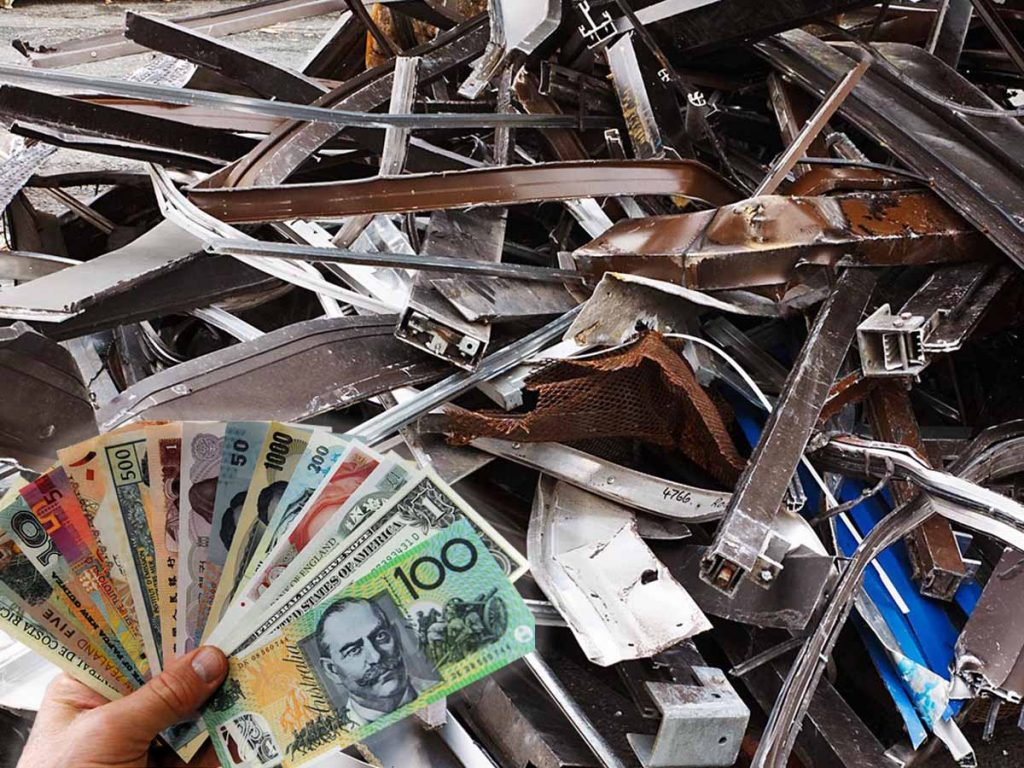 What Is A Way Of Earning More By Selling Scrap Metal